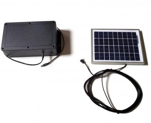 final solar panel pet auto doors